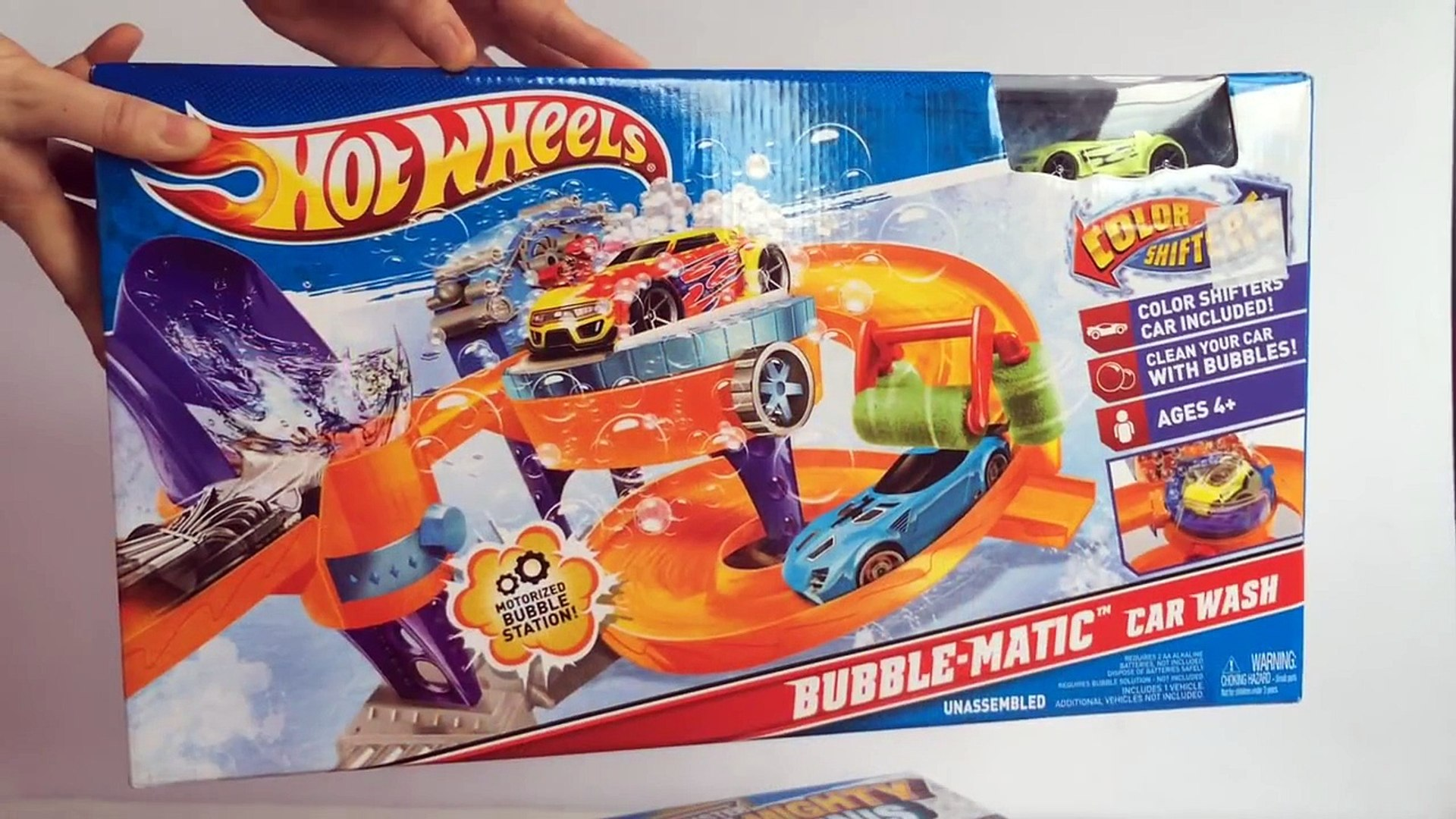 Hot Wheels Color Shifters Bubble Matic Car Wash Unboxing Demo Review Dailymotion Video