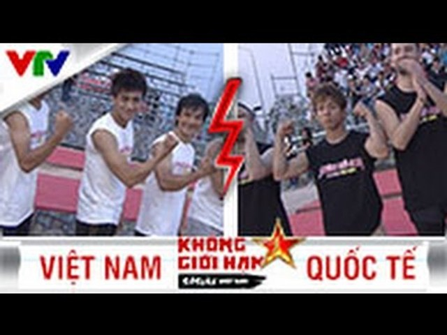 SASUKE VIỆT NAM 2015 | SEASON 1 | SPECIAL ĐỘI VIỆT NAM vs ĐỘI QUỐC TẾ | TẬP 13 (03/09/2015)