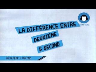 Deuxième ou Second ? Quelle est la différence ?