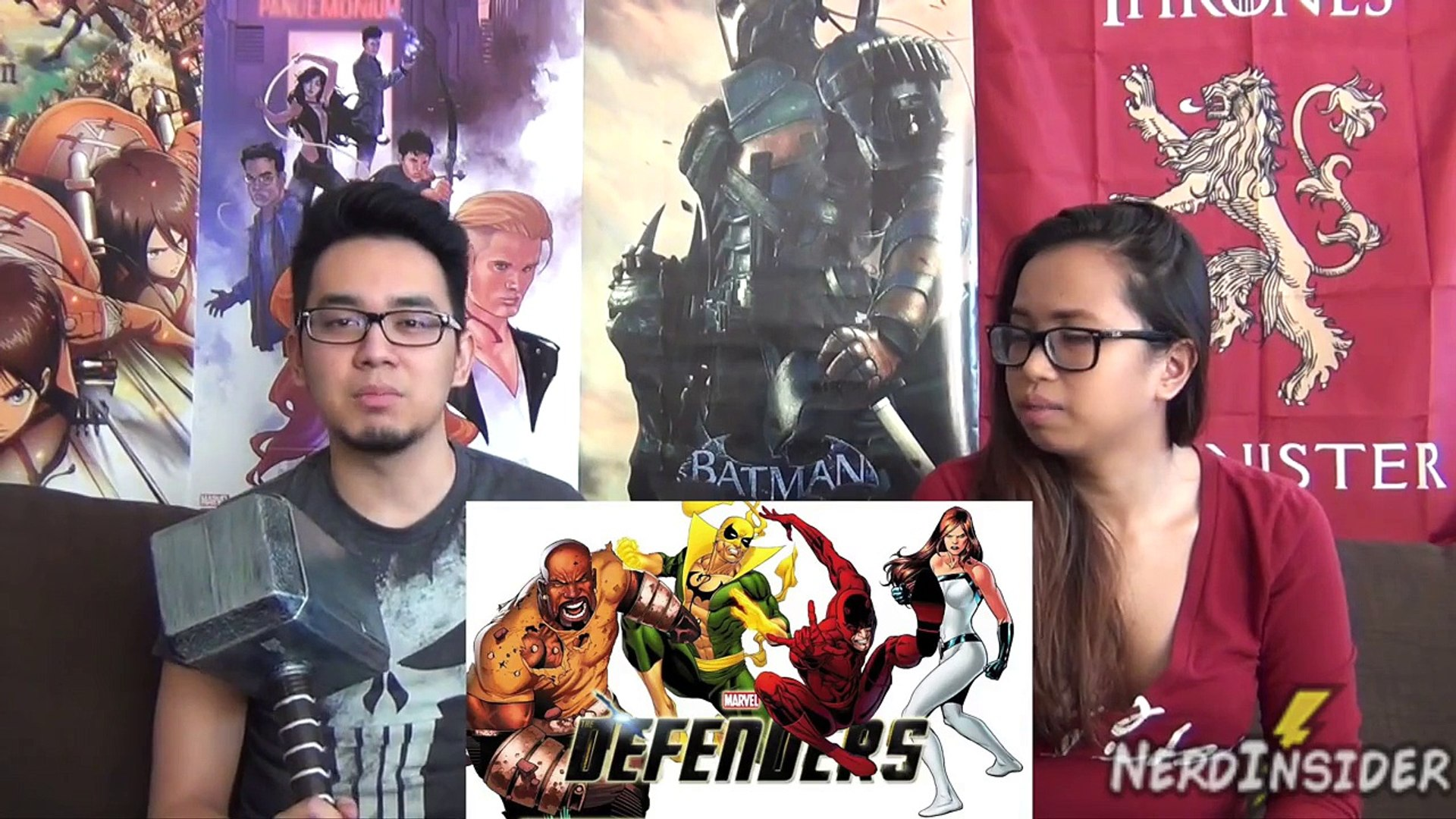 Marvel's Jessica Jones FULL TRAILER REACTION