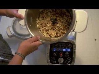 Recette facile du muesli ou granola (Cuisine Companion Moulinex) - Clickncook.fr