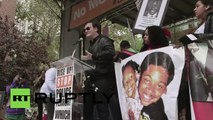 Quentin Tarantino manifeste contre les violences policières