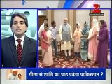 See how badly Indian media gone mad on Pakistan after Geeta returned to India