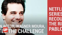 Wagner Moura Prepares to Play Pablo Escobar in Narcos
