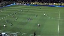Boca 2 - Lanús 0 Patadón de Gustavo Gómez a Tevez _ Semifinales - Copa Argentina 2015