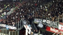Ultras  fans PAOK during match @ Alkmaar, AZ Alkmaar - PAOK Thessaloniki