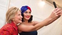 Katy Perry übernimmt Hillary Clintons Instagram