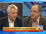 ILIE SERBANESCU: FMI se opune creşterilor salariale, este un agent de operare al Marii Finante Internationale