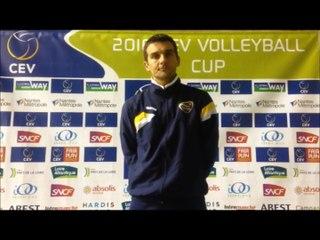 Set en avant match CEV Cup : VBN - YUZHNY