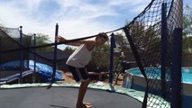 How To Do A Back Handspring On The Trampoline