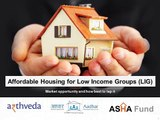 Affordable Housing for Low Income Groups LIG 1