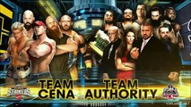 SURVIVOR SERIES 2014 - TEAM CENA VS TEAM AUTHORITY