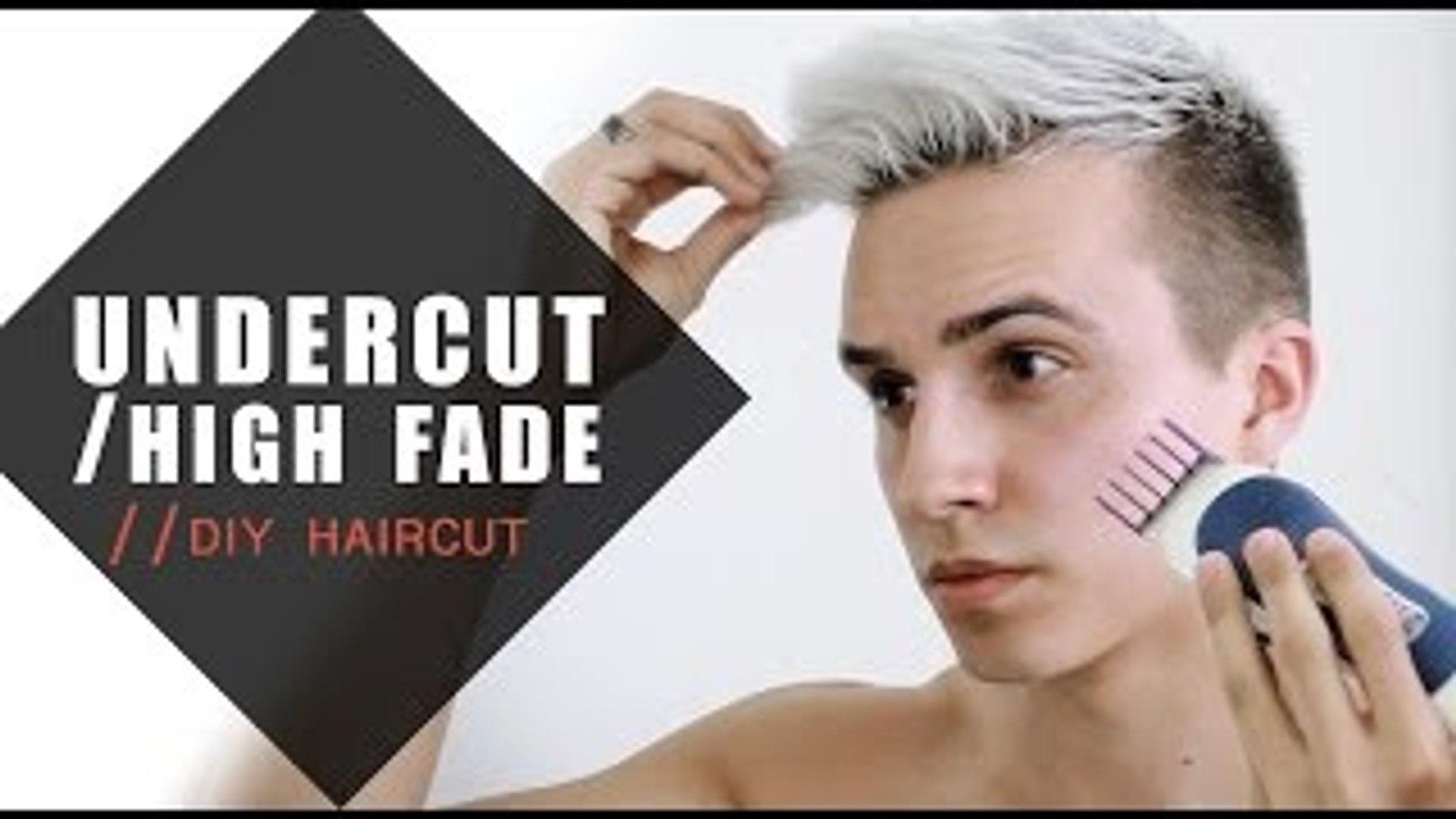 Undercut/High Fade - How I cut my hair - Mens Hairstyles