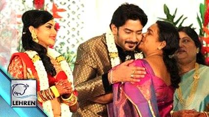 Prajwal Devaraj And Ragini Chandran Wedding Reception Images