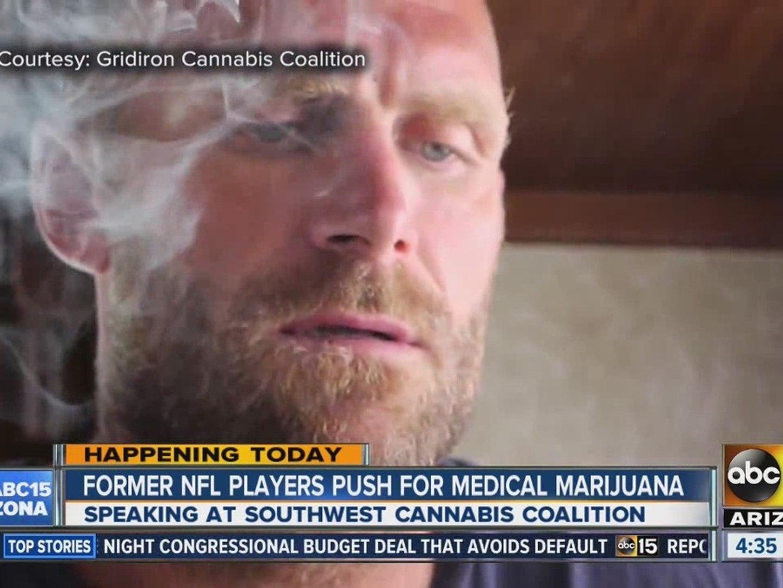 Former NFL players push for medical marijuana