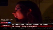 Nathalie Peña-Comas en ópera de Viena y en la Expo Milán 2015