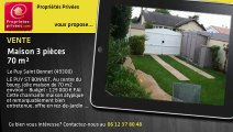 A vendre - Maison de bourg - Le Puy Saint Bonnet (49300) - 3 pièces - 70m²