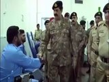 General Raheel Sharif, Chief of Army Staff (COAS) during his visit to Armed Forces Institute of Rehabilitation Medicine