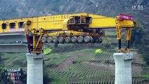 Chine : cette machine met juste quelques minutes pour construire un pont