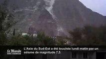 Glissement de terrain au Pakistan suite au séisme