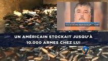 Un Américain stockait jusqu'à 10.000 armes et 150 tronçonneuses chez lui