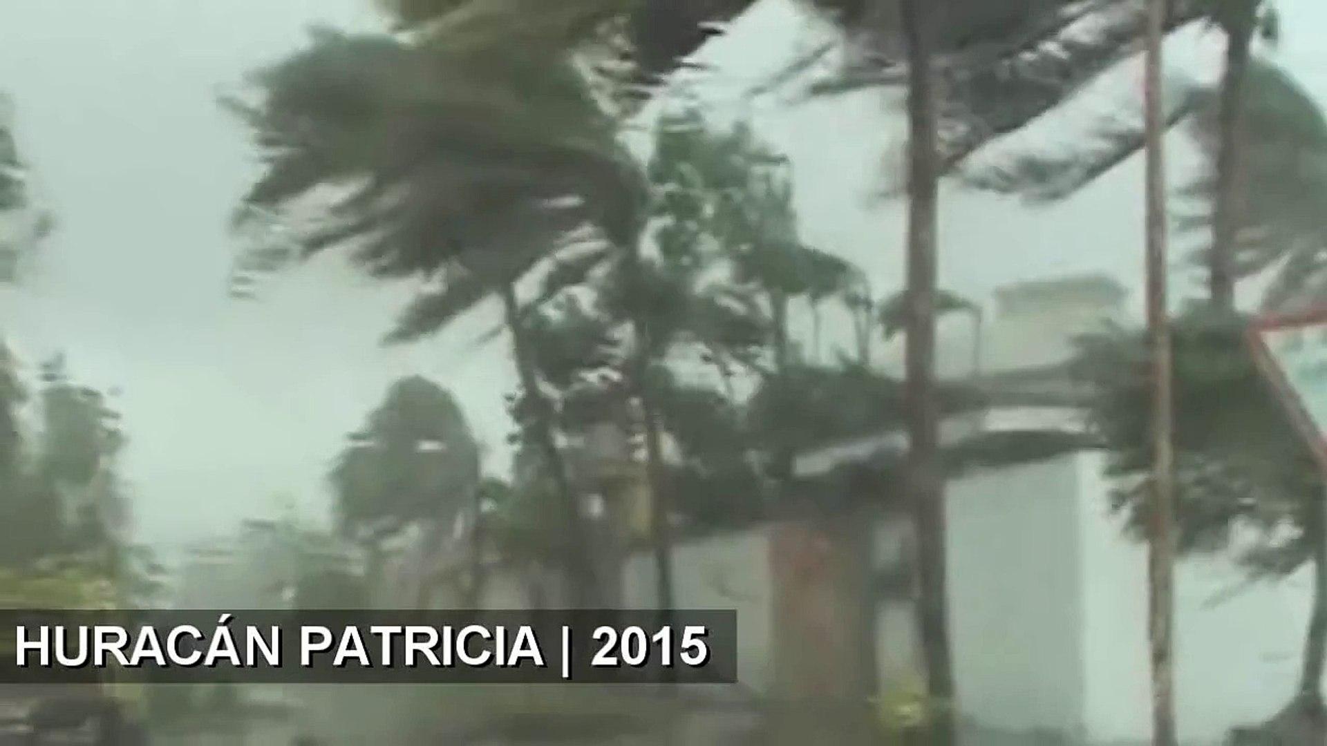 SORPRENDENTE - Toca tierra el huracán Patricia en México | MOMENTO EXACTO • 23.10.2015