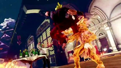Street Fighter 5 - Dhalsim Gameplay Trailer (PS4)