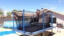 Trampoline Tricks And Flips | Trampoline Tricks 2015