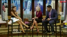 Ariana Grande Interview - Live with Kelly and Michael 09/30/15