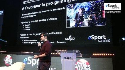 Les recettes d'un bon jeu eSport avec Rémy Chanson Webedia Gaming