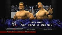 Wrestling Fight - Ironman Match - John Cena vs Chris Jericho (WWE 2K14)