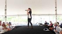 Lydia Tate sings 'A Little Less Conversation' Elvis Week 2015