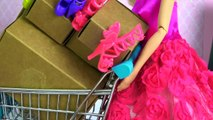 Barbie SHOPPING SURPRISE SHOES dress up high heels sports shoes ballet flats platforms boo