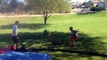 Backflip Contest Backflip Contest On Ground
