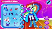 ☆ My Little Pony Equestria Girls - Applejacks Beach Salon Dress Up Game For Little Kids &