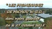 LES PROMENADES DE MICHOU W-D.D. - 26 et 27 OCTOBRE 2015 - DANS NOTRE QUARTIER DU BUISSON.