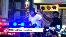 Shah Rukh Khan's gift to fans on his birthday - Bollywood Gossip