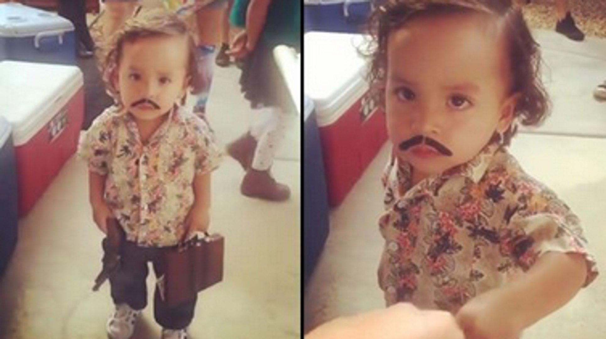 Little Pablo Escobar Runs The Biggest Fun Size Snickers Cartel