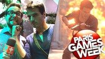 Paris Games Week : On a joué à Uncharted 4 en multi, nos impressions explosives
