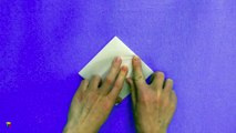 Cómo hacer una grulla de papel paso a paso. Papiroflexia. Origami