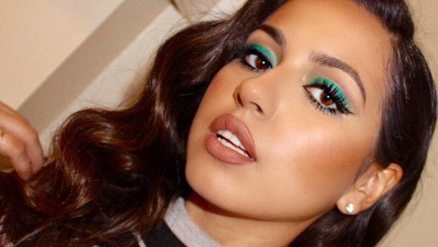 Glam Emerald Eyes Makeup Tutorial!