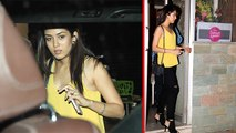 Shahid Kapoors Wife Mira Rajput Snapped At Restaurant
