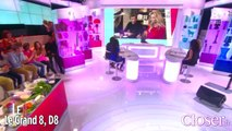 Le Grand 8 : Adriana Karembeu avale plus de sperme que Michel Cymes, mercredi 28 octobre