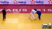 FINALE +100 KG - HARASAWA (JPN) VS. MOURA (BRA) - PARIS GRAND SLAM 2015