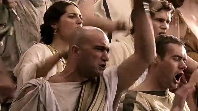 Spartacus Ep. 1 #6 - Spartacus nell'area ammazza 4 gladiatori