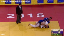 FINALE -90 KG - LIPARTELIANI (GEO) VS. IDDIR (FRA) - PARIS GRAND SLAM 2015
