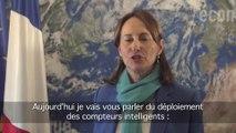 J -14 avant la COP21 : Ségolène Royal présente les compteurs intelligents