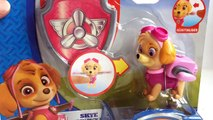 6 Paw Patrol Action Pack Pups and Badges Marshall Chase Rubble Rocky Zuma Skye Nickelodeon
