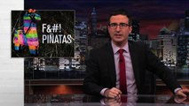 Last Week Tonight with John Oliver: John Oliver Literally Destroys Piñatas (Web Exclusive)