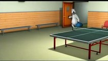 Bernard The Funny Bear Table Tennis
